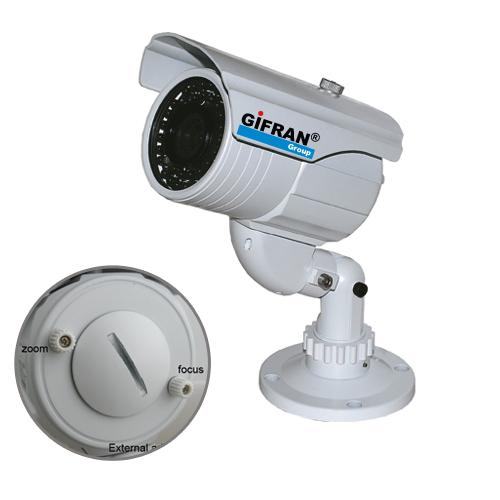 Telecamera Videosorveglianza CCD Sharp varifocale 4-9mm 420 TVL