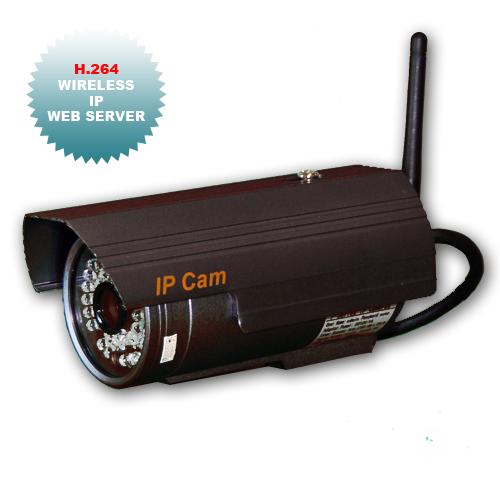 Telecamere Videosorveglianza IP, 300.000px CMOS, 36 led IR
